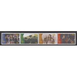 Ireland - 1996 - Nb 971/974 - Cinema