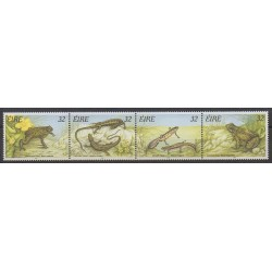 Ireland - 1995 - Nb 912/915 - Reptils