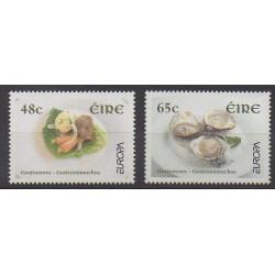 Irlande - 2005 - No 1654/1655 - Gastronomie - Europa