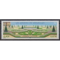 France - Poste - 2001 - No 3389 - Parcs et jardins