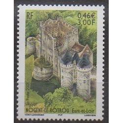 France - Poste - 2001 - No 3386 - Châteaux