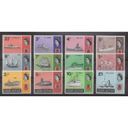 Gibraltar - 1967 - No 187/197 - Navigation