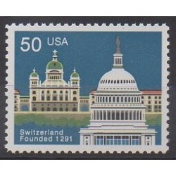 United States - 1991 - Nb 1930 - Monuments