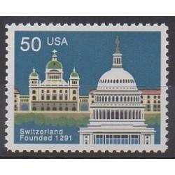 États-Unis - 1991 - No 1930 - Monuments
