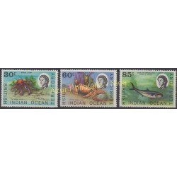 British Indian Ocean Territory - 1970 - Nb 36/38 - Fishes