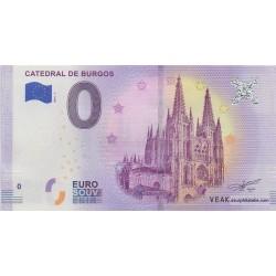 Billet souvenir - Catedral de Burgos - 2018-1