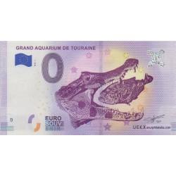 Euro banknote memory - 37 - Grand aquarium de Touraine - 2018-1