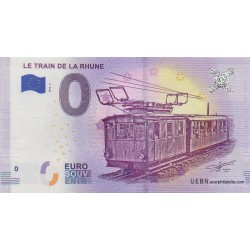 Euro banknote memory - 64 - Le train de la Rhune - 2018-2