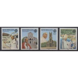 Seychelles - 1986 - No 614/617 - Papauté