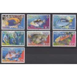 Seychelles - 2005 - No 880/886 - Animaux marins