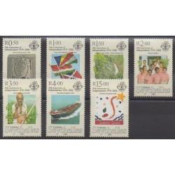 Seychelles - 2006 - No 887/893 - Histoire