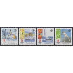 Seychelles - 2008 - No 899/902 - Jeux Olympiques d'été