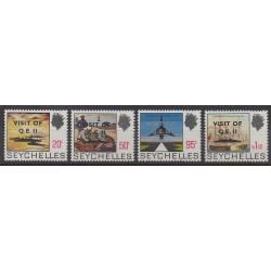 Seychelles - 1975 - No 317/320 - Royauté - Principauté