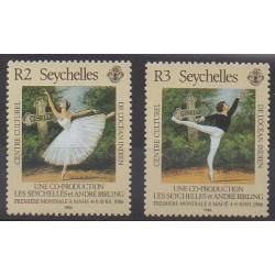 Seychelles - 1986 - No 599/600