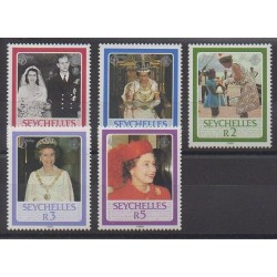 Seychelles - 1986 - Nb 601/605 - Royalty