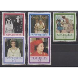Seychelles - 1986 - No 601/605 - Royauté - Principauté