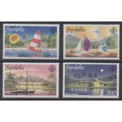 Seychelles - 1988 - Nb 643/646 - Tourism