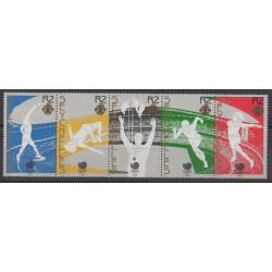 Seychelles - 1988 - No 651/655 - Jeux Olympiques d'été