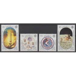 Seychelles - 1989 - Nb 683/686 - Space