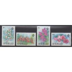 Seychelles - 1988 - Nb 673/676 - Orchids