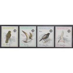 Seychelles - 1989 - Nb 695/698 - Birds