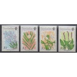 Seychelles - 1991 - Nb 733/736 - Orchids