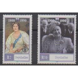 Seychelles - 1990 - Nb 718/719 - Royalty