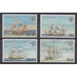 Seychelles - 1999 - Nb 834/837 - Boats