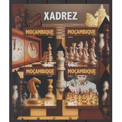 Mozambique - 2016 - Nb 6930/6933 - Chess