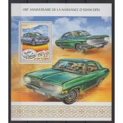 Djibouti - 2017 - Nb BF216 - Cars