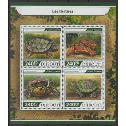 Djibouti - 2017 - Nb 1568/1571 - Reptils