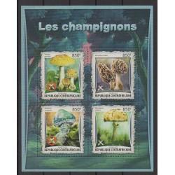 Centrafricaine (République) - 2017 - No 4833/4836 - Champignons