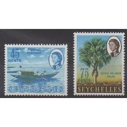 Seychelles - 1966 - Nb 218/219