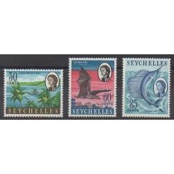 Seychelles - 1968 - No 236/238