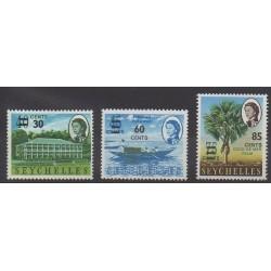 Seychelles - 1968 - No 233/235