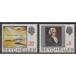 Seychelles - 1972 - Nb 291/292 - Royalty