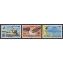 Seychelles Zil Eloigne Sesel - 1980 - No 17/19 - Service postal