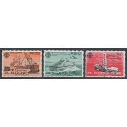 Seychelles Zil Eloigne Sesel - 1982 - Nb 50/52 - Boats