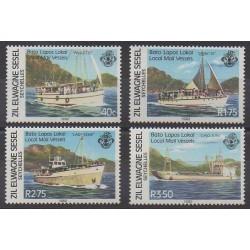 Seychelles Zil Eloigne Sesel - 1982 - Nb 53/56 - Postal Service