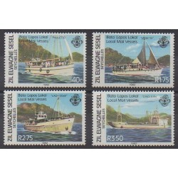 Seychelles Zil Eloigne Sesel - 1982 - No 53/56 - Service postal