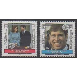 Seychelles Zil Eloigne Sesel - 1986 - Nb 132/133 - Royalty