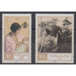 Seychelles Zil Eloigne Sesel - 1990 - No 198/199 - Royauté - Principauté