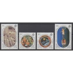 Seychelles Zil Eloigne Sesel - 1989 - Nb 182/185 - Space