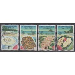 Seychelles Zil Eloigne Sesel - 1989 - No 190/193 - Gastronomie