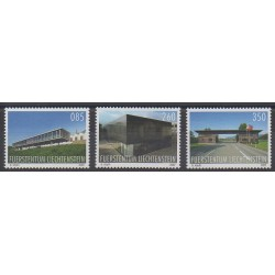 Lienchtentein - 2009 - Nb 1474/1476 - Architecture