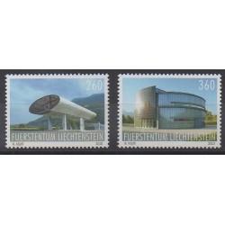 Lienchtentein - 2010 - Nb 1488/1489 - Architecture