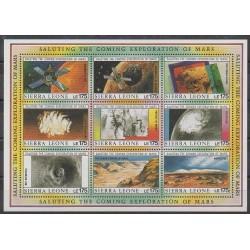 Sierra Leone - 1989 - No 1110/1118 - Espace