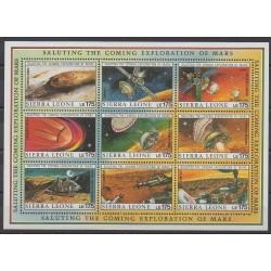 Sierra Leone - 1989 - No 1119/1127 - Espace
