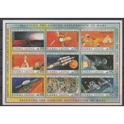 Sierra Leone - 1989 - No 1128/1136 - Espace
