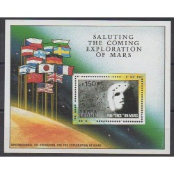 Sierra Leone - 1989 - Nb BF121 - Space